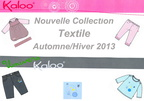 Collection Textile Hiver 2013